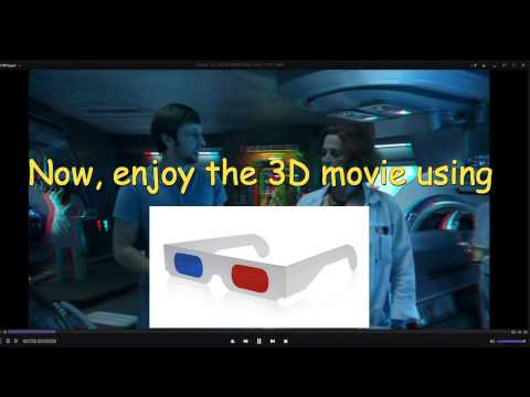 how to watch 3d movie on laptop