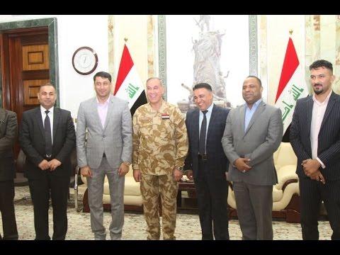 خالد العبيدي يبحث مع مجلس محافظة ذي قار جعل قاعدة الإمام علي مطارا للطائرات العسكرية والمدنية