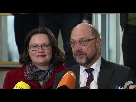 Martin Schulz (SPD): Regierungsbildung - Schulz wirbt f ...