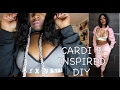 CARDI B INSPIRED FASHION DIY