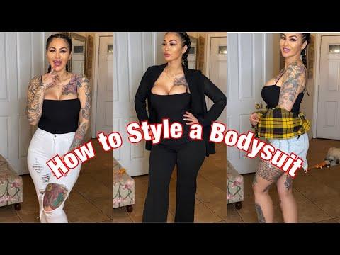 5 Ways to Style a bodysuit | OOTD