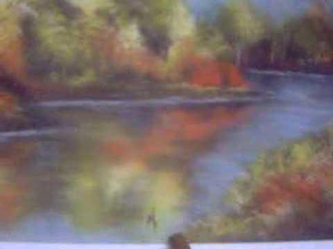 Como pintar água