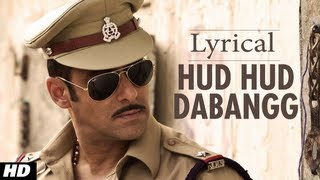 Hudd Hudd Dabang Full Song with Lyrics  Dabangg  Salman Khan
