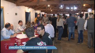 Grand Expo Bauru realiza jantar de lançamento e divulga atrações