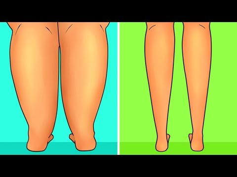 6-Minute Workout To Slim Down Your Legs In 5 Days