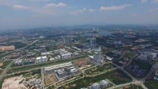 Cyberjaya Malaysia  City pictures : DJI Phantom 3 - Cyberjaya from 500m (1640ft) Above, Malaysia [HD]