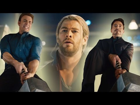 clip - Avengers Attempt To Lift Thor's Hammer In New Age of Ultron Clip Subscribe Now! ▻ http://bit.ly/SubClevverMovies Avengers 2 Clip ▻ http://bit.ly/1wGKqKb Who is worthy enough to wield the...