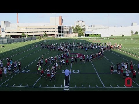 University - Behind the scenes with The Ohio State University Marching Band as they prepare the drills for The Wizard of Oz. #ThisisOhioState #TBDBITL.