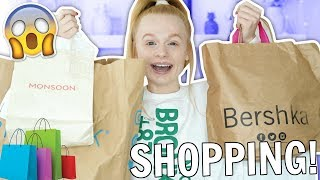 Video SHOPPING SPREE VLOG + HAUL! 🤑😱 Primark, Too Faced, Bershka & Monsoon MP3, 3GP, MP4, WEBM, AVI, FLV September 2018