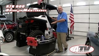4. ATV Television Special - Polaris RZR Initial Maintenance. Oil Changes.