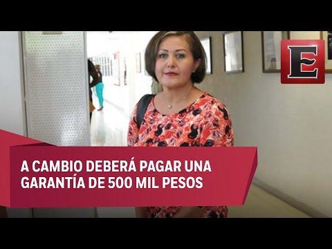 Eva Cadena logra amparo contra orden de aprehensión