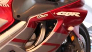 8. My new 2005 Honda CBR 600 F4i