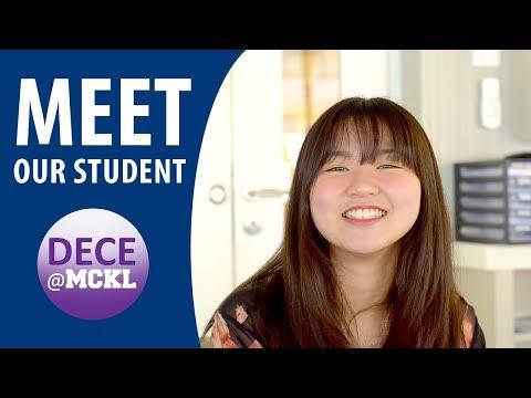 DECE@MCKL | Meet our student, Tze Lim