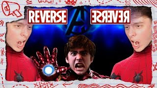 MARVEL TONGUE TWISTED - A Speaking Backwards Challenge! | Thomas Sanders & Friends