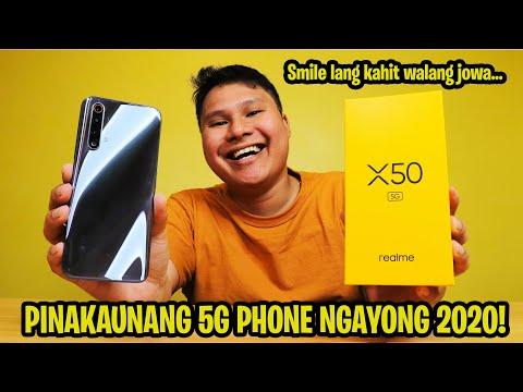 REALME X50 5G - PINAKAUNANG 5G PHONE NGAYONG 2020!