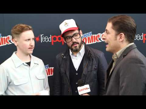 """Johnny Pemberton and Eric Appel on """"Son of Zorn"""" at NYCC Behind The Velvet Rope"""
