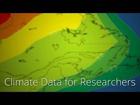 Climate data for researchers from UPEI's Climate Research Lab