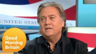 Video Susanna Reid Debates Steve Bannon over Trump's Brexit Criticism | Good Morning Britain MP3, 3GP, MP4, WEBM, AVI, FLV Oktober 2018