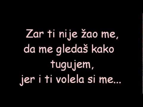 Mr. Black - Još uvek volim te (lyrics - tekst)