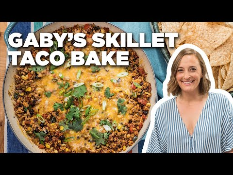 Gaby Dalkin's Skillet Taco Bake | The Kitchen | Food Network