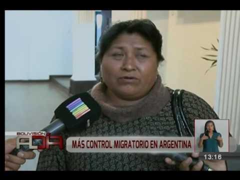 Argentina aumentará control migratorio en sus fronteras