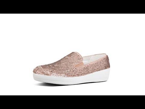 FitFlop Superskate Sequin SlipOn Sneaker