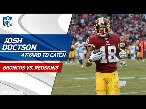 Video: Kirk Cousins' 47-Yd TD Bomb to Josh Doctson to Extend the Lead! | Broncos vs. Redskins | NFL Wk 16