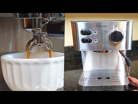 Capresso 118.05 EC PRO Espresso and Cappuccino Maker Review