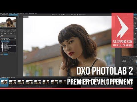 DXO PhotoLab 2 : Premier développement
