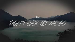Don't ever let me go