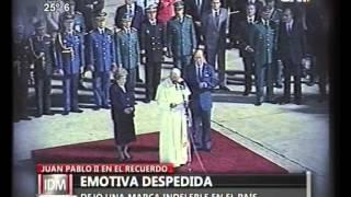 Download Lagu La Emotiva despedida de Juan Pablo II Mp3