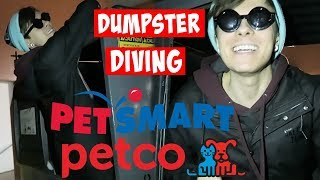 PETSMART & PETCO DUMPSTER DIVING (her dog got herpes) by Tyler Rugge