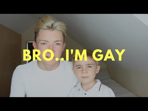 Coming out GAY to my 5 year old brother