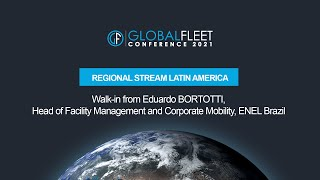 Walk-in from Eduardo BORTOTTI, Head of Facility Management and Corporate Mobility, ENEL Brazil