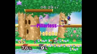 Pillarless – A combo video (obscure punishes and netplay highlights)