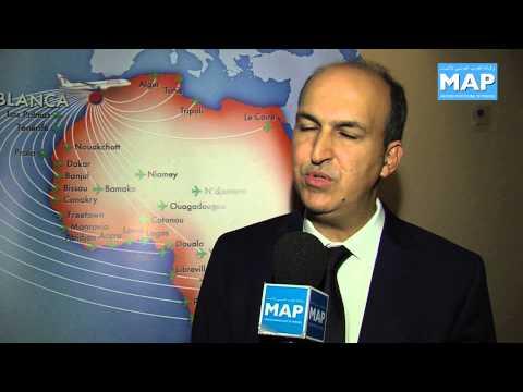Vol inaugural Casablanca N'Djamena la RAM en harmonie avec son africanité