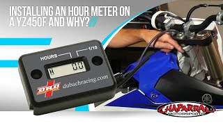 5. ChapMoto.com Pro Works Episode 4: Installing an Hour Meter on a YZ450F and Why?
