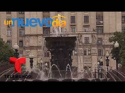 Notícias dos famosos - Mira la belleza del edificio de la Plaza de Kudrinskaya  Un Nuevo Día  Telemundo