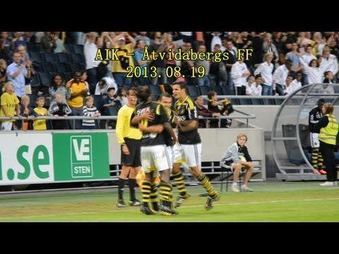 AIK - Åtvidabergs FF 3-2 (2013-08-19)