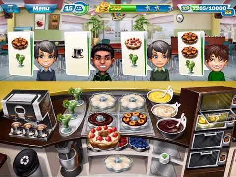 COOKING FEVER - BAKERY LEVEL 40