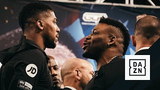 Joshua vs. Miller Press Conference