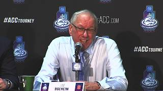 Syracuse Press Conference | ACC Quarterfinals