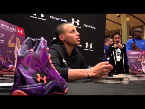 0 Behind the Scenes with Steph Curry and UA Basketball at NBA All Star