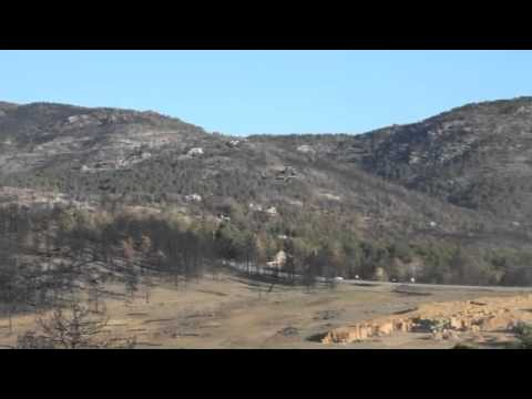 Mountain West Helicopters Aerial Mulching (видео)