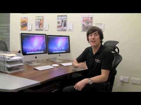 word on imac - http://www.editorskeys.com official review. The iMac Review and Speed Test with Mark Brown from Editors Keys.com In this video we take a look at the new iMac...