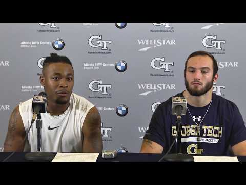 Video: Georgia Tech Student-Athletes Postgame Press Conference - Georgia (Nov. 25, 2017)