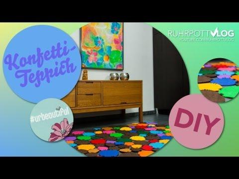 DIY: Konfetti-Teppich selbermachen – DIY-Sunday