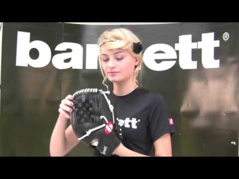 Baseball Glove GL-120 black by barnett