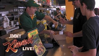 Cousin Sal Hidden Camera at Nathan's Famous Hot Dogs New York #2
