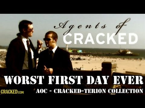 Worst First Day Ever | Agents of Cracked | Episode 1